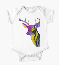 The One With The Retro Deer Kids Clothes