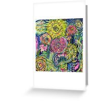 Floral Bounty Greeting Card