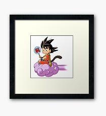 Kid Goku RC Framed Print