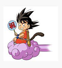 Kid Goku RC Photographic Print