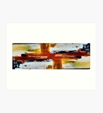 Abstract composition 66 Art Print