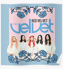 RED VELVET The Velvet Poster