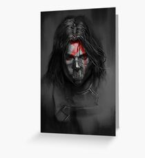 Winter Soldier,Bucky Greeting Card