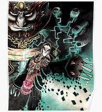 Puppet Zant - Twilight Princess - Ganon - Ganondorf Poster