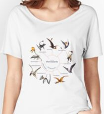 Pterosauria: The Cladogram Women's Relaxed Fit T-Shirt