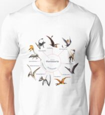 Pterosauria: The Cladogram Unisex T-Shirt