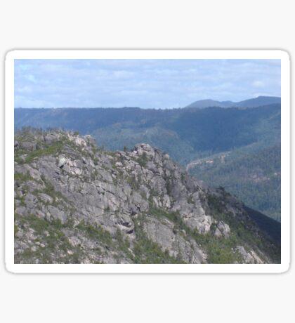 Mid Tasmanian Mountain Sticker