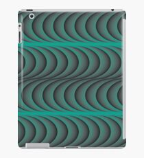 Against the wind behind the refrigerator iPad Case/Skin