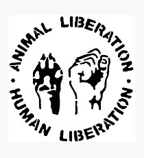 animal Liberation Photographic Print
