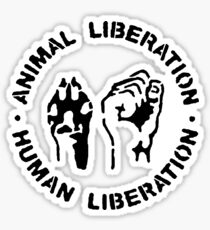 animal Liberation Sticker