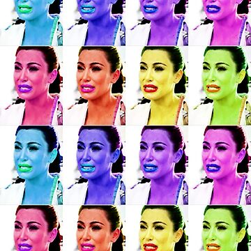 Ugly Crying Face - Kim K by jwalkingdesigns