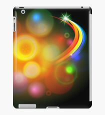 Abstract Christmas Tree Ball Background iPad Case/Skin