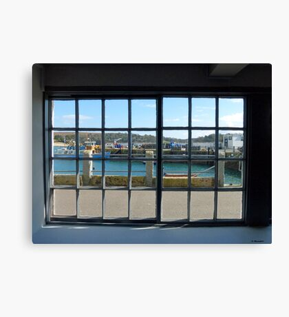 Looking Out at St. Mawes, Cornwall Canvas Print