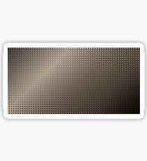 Abstract Rusty Grid Background Sticker