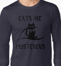 Cat - Cats are mysterious T-Shirt