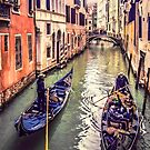 Passing Strangers in Venice by Brian Tarr