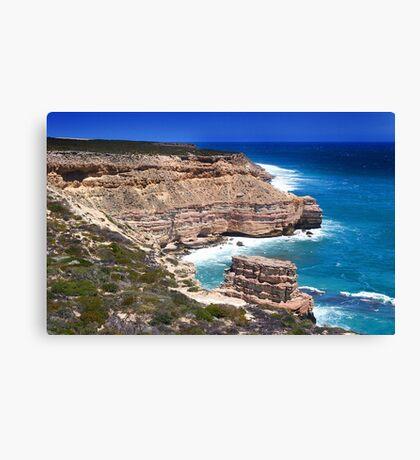 Kalbarri Coastal Cliffs - Western Australia  Canvas Print