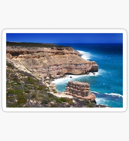 Kalbarri Coastal Cliffs - Western Australia  Sticker