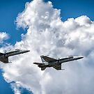 F/A-18 Flyover by Nick Sage