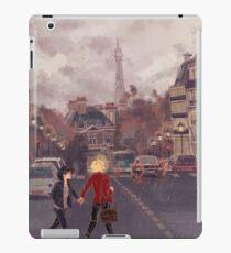 Vinilo o funda para iPad París bajo la lluvia