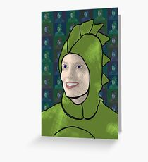 Dinosaur Britta Greeting Card