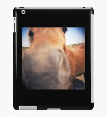 The Nosey Horse iPad Case/Skin
