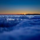 Frozen lake by Mikko  Suhonen
