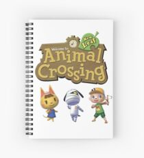 ACNL fam Spiral Notebook