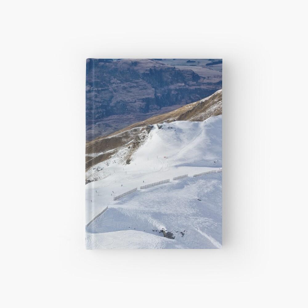 Treble Cone View Cuaderno de tapa dura