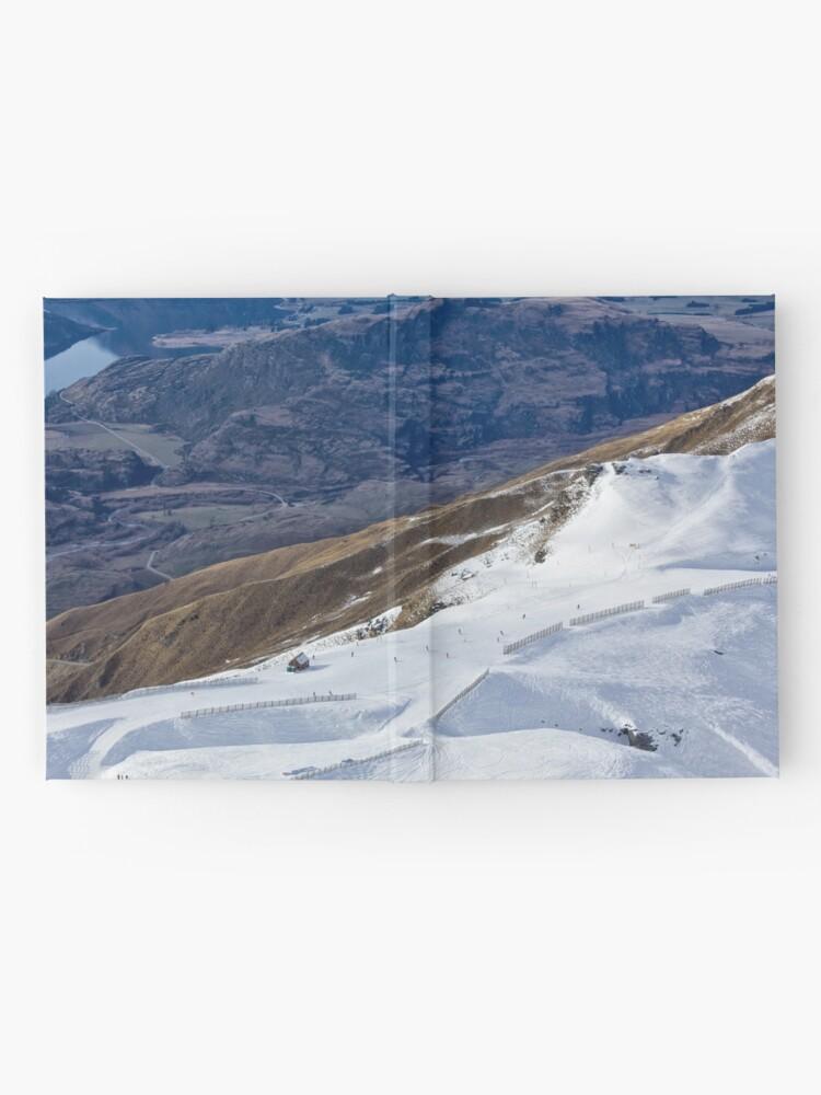 Vista alternativa de Cuaderno de tapa dura Treble Cone View