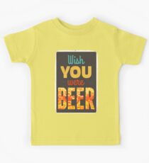 Wish you were beer Kids Clothes