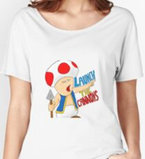 Launch the CANNONS! Women's Relaxed Fit T-Shirt