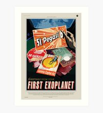 NASA Space Tourism - 51 Pegasi b Art Print