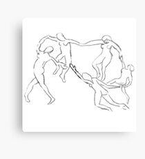 Lienzo metálico Matisse - La Danse