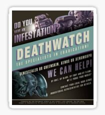 do you have an infestation? Sticker
