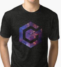 Galaxy Cube Tri-blend T-Shirt