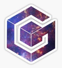 Galaxy Cube Sticker
