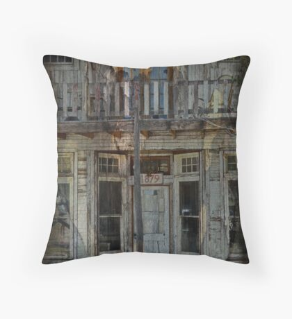 Old Bisbee Pharmacy Throw Pillow