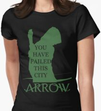 Arrow Hero 2 Womens Fitted T-Shirt