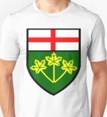 Ontario Shield of Arms Unisex T-Shirt
