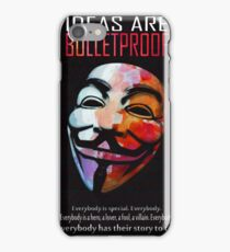 Ideas are BulletProof iPhone Case/Skin