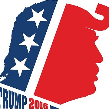 Donald Trump and Republican Elephant Logo by ChattanoogaTee