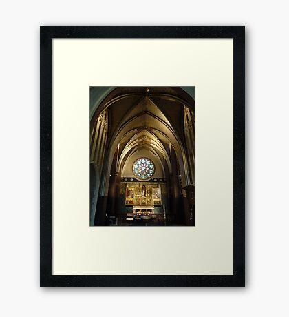 Cathedrale Notre-Dame - Antwerp Belgium Framed Print