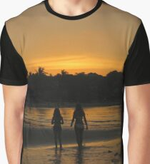 Beach Attractions Graphic T-Shirt