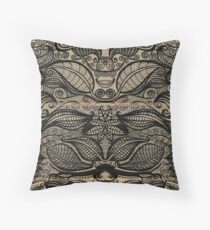 ink design Throw Pillow