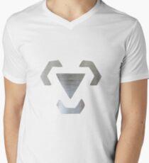 Steel Men's V-Neck T-Shirt