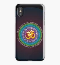 Om presence iPhone Case