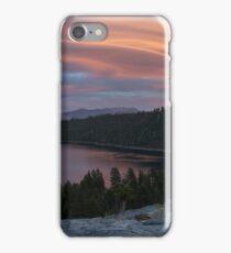 Cloud Show over Emerald Bay iPhone Case/Skin