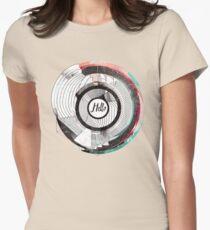 Hello Escher  Womens Fitted T-Shirt