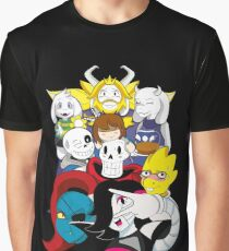 Undertale Everyone Graphic T-Shirt